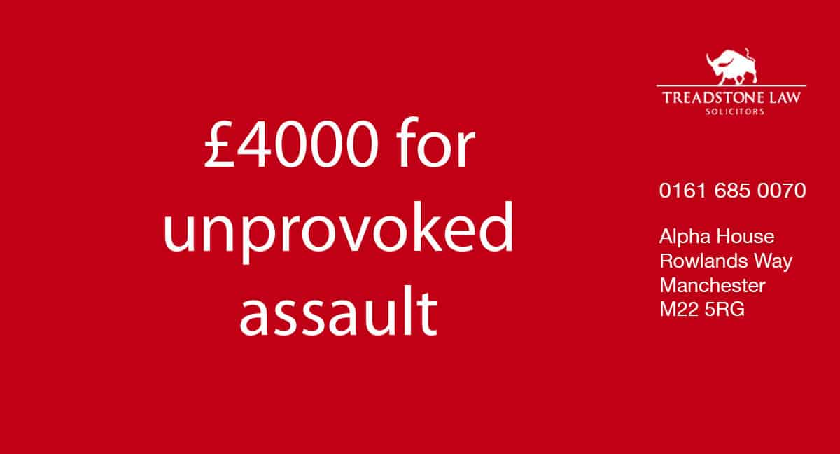 assault personal injury solicitor